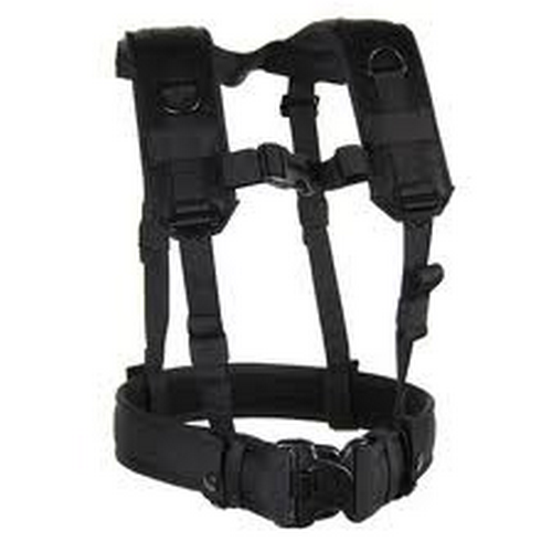 BLACKHAWK! Load Bearing Suspenders & Military Gear Harness 35LBS1BK Black