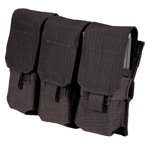 BLACKHAWK! M4/M16 Triple Mag Pouch 37CL04BK Black Nylon Triple