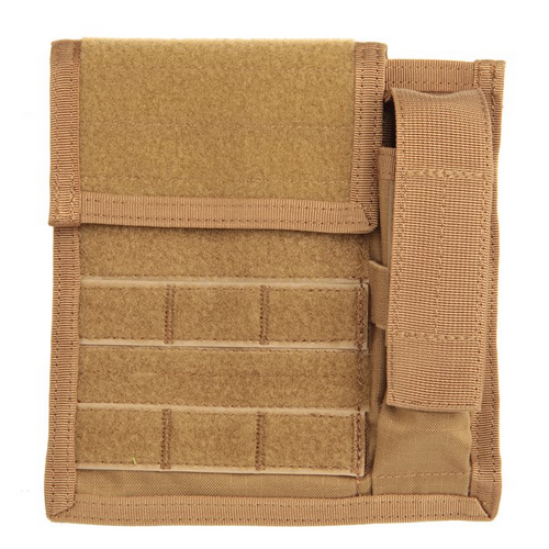 BLACKHAWK! Admin/Flashlight Pouch 37CL114CT Coyote Tan Nylon Velcro