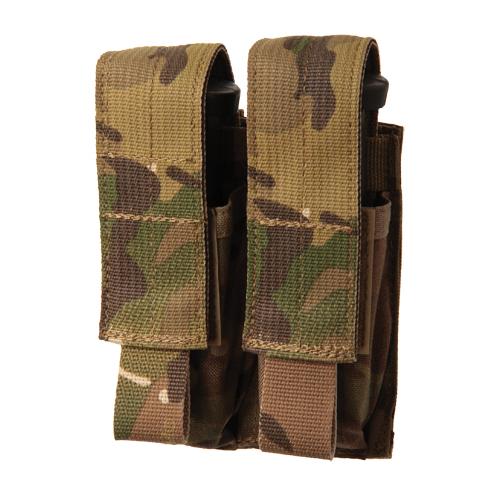 BLACKHAWK! Pistol Mag Pouch 39CL09MC-USA MultiCam Double