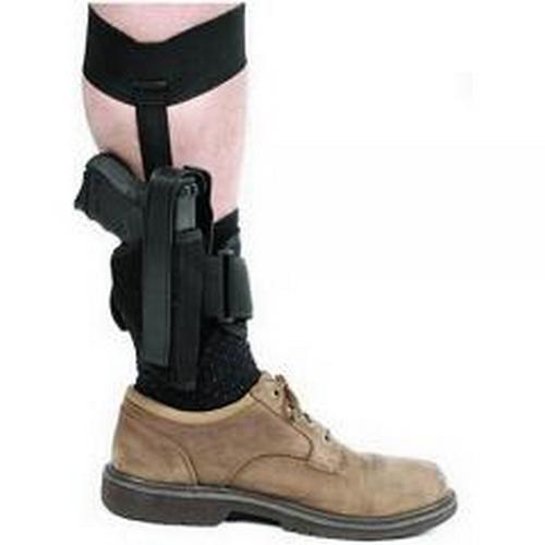 BLACKHAWK! Ankle Holster 40AH12BK-R 12 Right