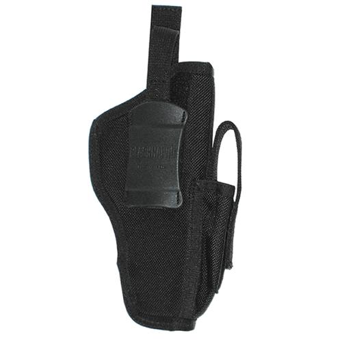 BLACKHAWK! Ambidextrous Shoulder Holster w/ Mag Pouch 40AM01BK 01 Medium