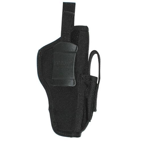 BLACKHAWK! Ambidextrous Shoulder Holster w/ Mag Pouch 40AM03BK 03 Large