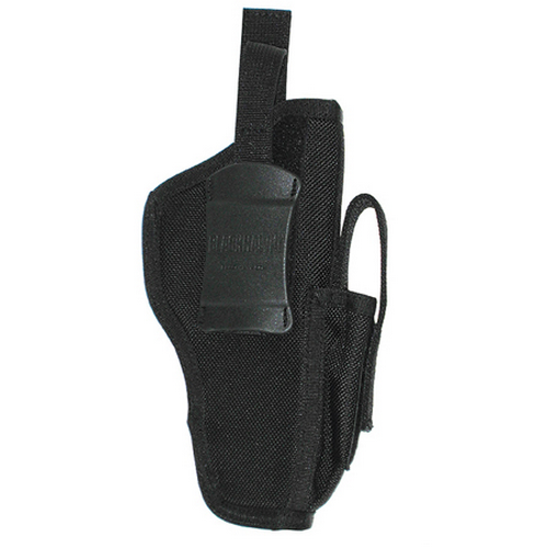 BLACKHAWK! Ambidextrous Shoulder Holster w/ Mag Pouch 40AM06BK 06