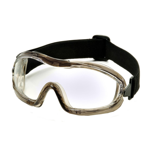 Pyramex Goggles Low Profile with Clear Anti-Fog Lens G704T