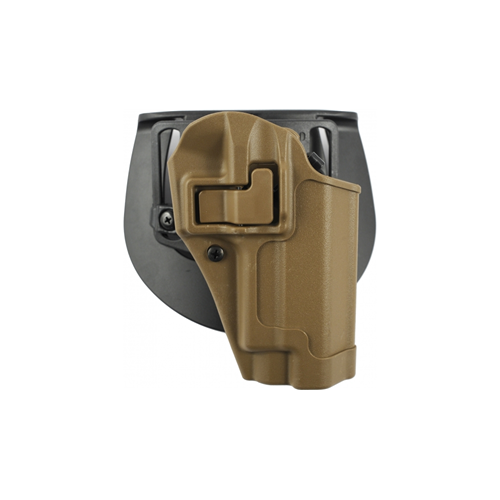BLACKHAWK! Serpa CQC Concealment Holster 410513CT-R Coyote Tan 13 Right