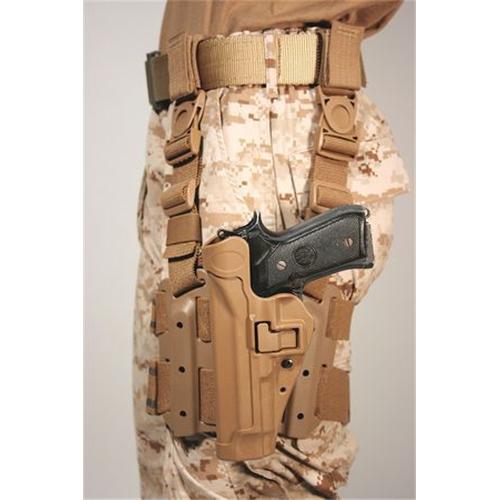BLACKHAWK! Tactical Serpa Holster 430504CT-L Coyote Tan 04 Left