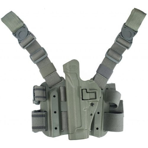 BLACKHAWK! Tactical Serpa Holster 430504OD-R OD Green 04 Right