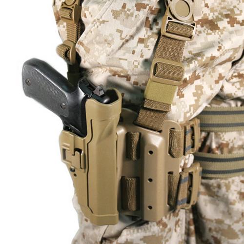 BLACKHAWK! Level 3 Tactical Serpa Holster 430606BK-L Black 06 Left
