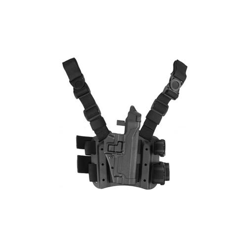 BLACKHAWK! Level 3 Tactical Serpa Holster 430606BK-R Black 06 Right