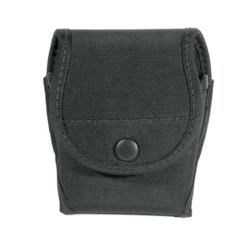 BLACKHAWK! Handcuff Pouch Single 44A100BK Black Nylon Standard Chain/Hinged Hidden