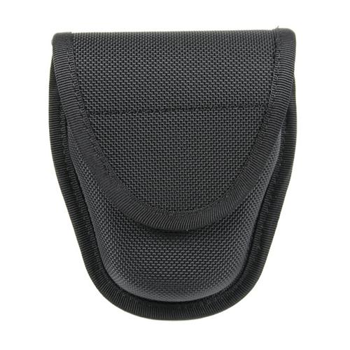 BLACKHAWK! Double Handcuff Case 44A101BK Black Nylon Standard Chain/Hinged Hidden