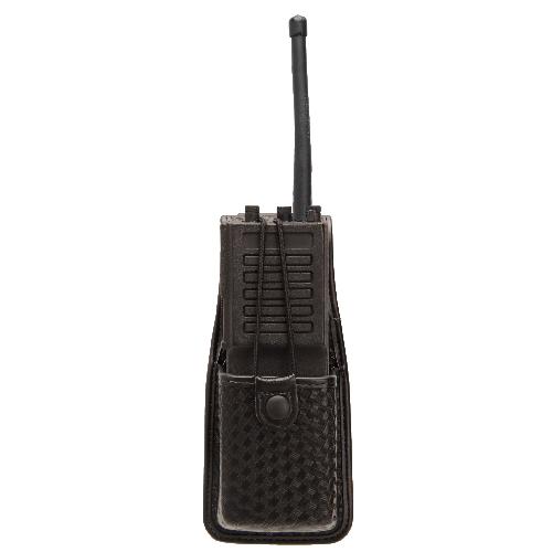 BLACKHAWK! Radio Case 44A400BW Black Basket Weave