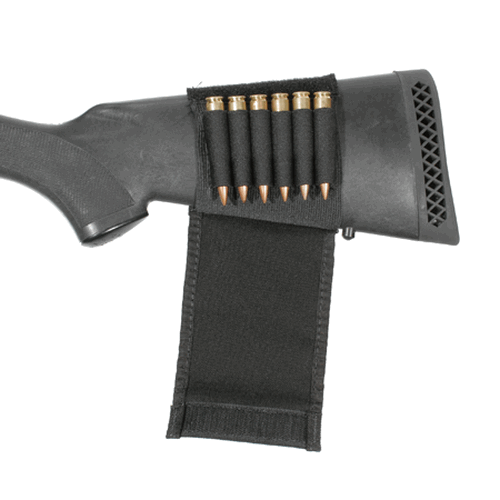 BLACKHAWK! Buttstock Shell Holder 74SH02BK 5 Black
