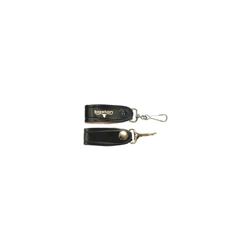 Boston Leather Economy Key Holder W/Snap 5421-1