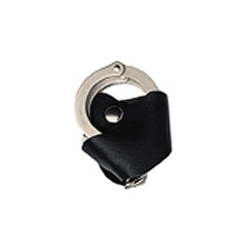 Boston Leather Quick Release Cuff Case for 1 3/4in. Belt 5520-1-BLK Black Plain Black