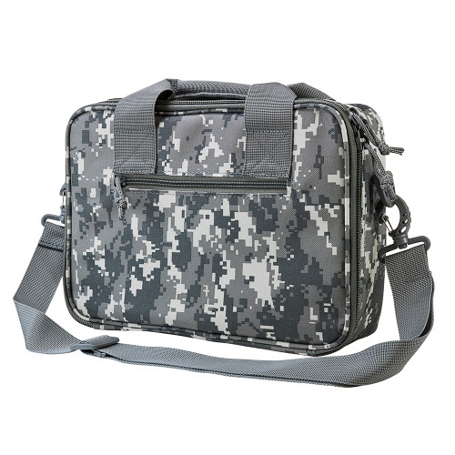 NcStar Double Pistol Bag with Carry Handles and Shoulder Strap Digital Camo  CPDX2971D