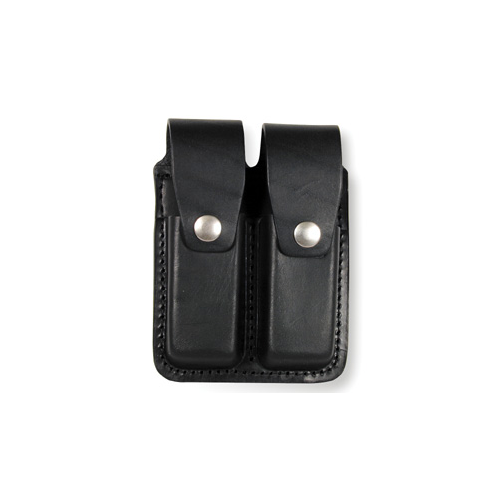 Boston Leather Double Mag Pouch 9Mm 5601HS-3