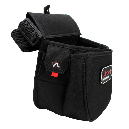 G Outdoors Contoured Double Shell Pouch and Web Belt Black GPS-960CSP