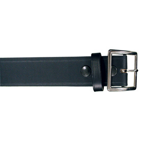 Boston Leather 1 3/4 Garrison Belt 6505-1-40 Black Plain Nickel 40