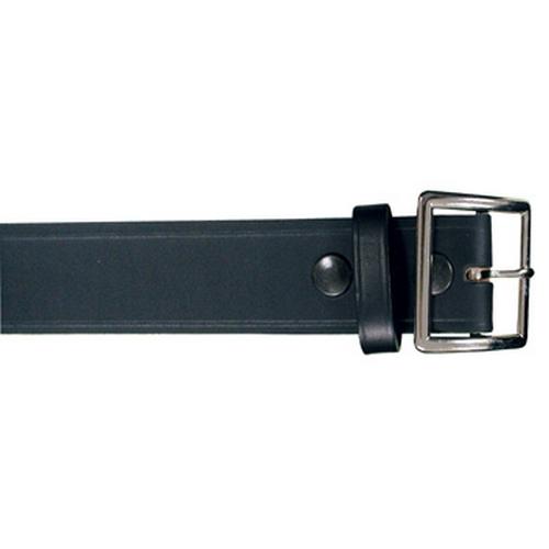 Boston Leather 1 3/4 Garrison Belt 6505-1-42 Black Plain Nickel 42