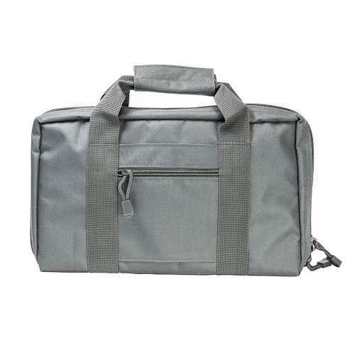NcStar Discreet Pistol Case 2 Padded Compartments Urban Gray CPU2903