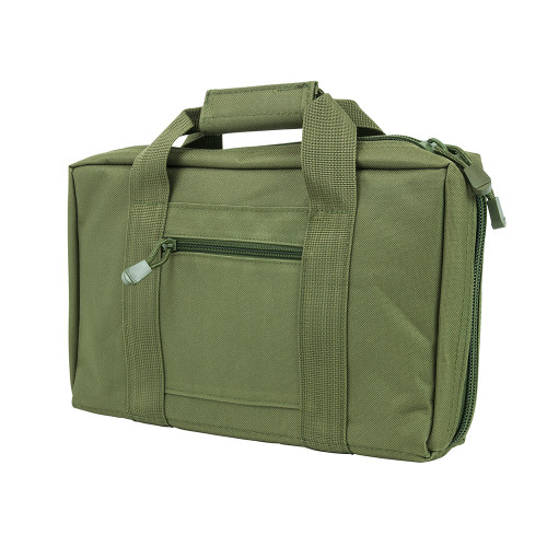 NcStar Discreet Pistol Case 2 Padded Compartments Green CPG2903