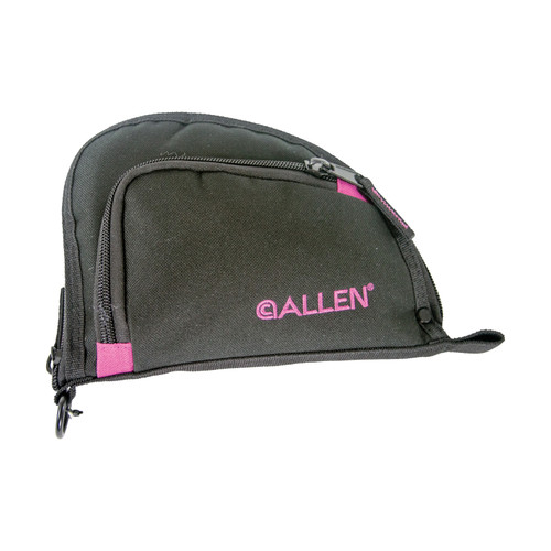 Allen Cases Auto-Fit Compact Handgun Case 7in. Black/Orchid 7708