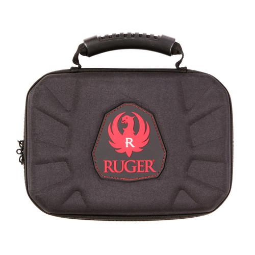 Allen Cases Ruger Blockade Molded Handgun Case 9in. Black/Red 27309