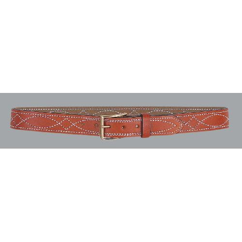 Desantis 1.5 Fancy Stitch Lined Belt B27BP36Z0 Black Nickel 36