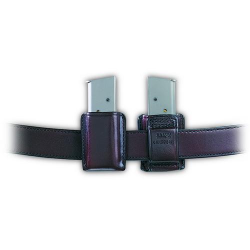 Galco Gunleather Concealable Magazine Case CONMC22B Black 8000 Cougar Mod F