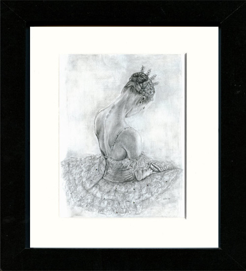 Black Framed Print 8x10inch
