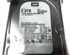 Front View of WD 3.5in 2TB SATA Hard Drive