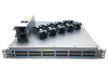 Front view of 6940-36Q QSFP+ ports Switches