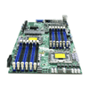 Back View of Supermicro X8DTT-HF+ Motherboard