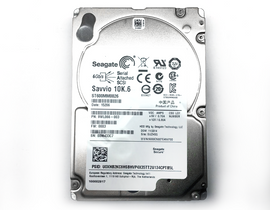 Top view of Seagate 2.5in 600GB SAS Hard Drive
