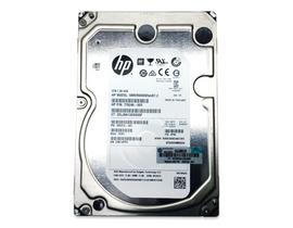 Top view of HP 3.5in 6TB SAS Hard Drive