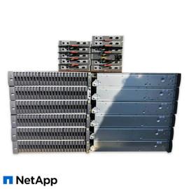 NetApp Disk Shelf DS2246 JBOD 2x IOM6 Controller 2x PSU 24x Caddies