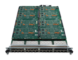 Front view of LM1000-XMV16-01 Network Module