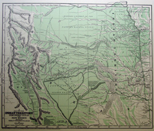 Copy of 1844 Josiah Gregg map