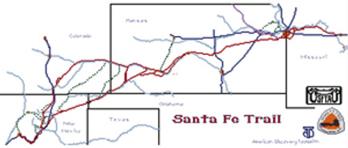 Santa Fe Trail Cross Stitch