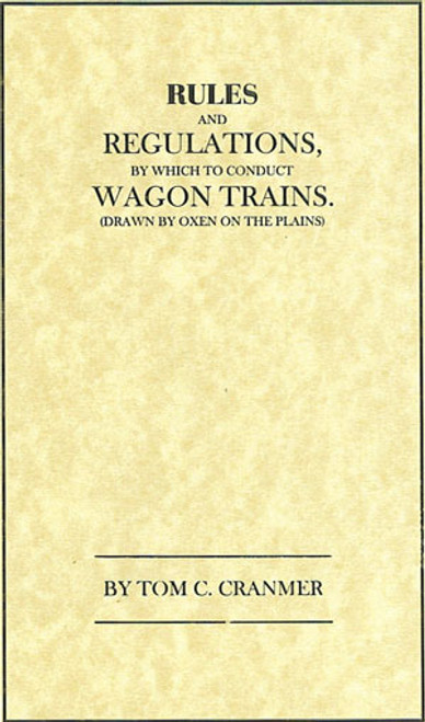 Rules for Wagon Trains