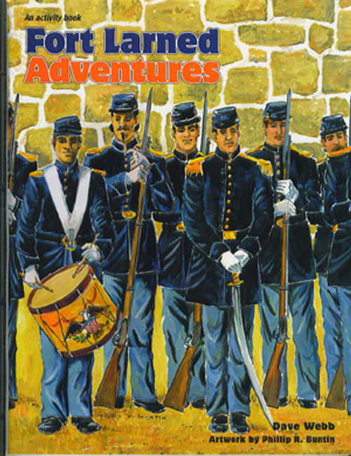 Activity Book: Fort Larned Adventures
