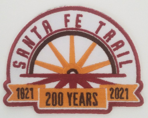 "200th ANNIVERSARY LOGO PATCH, 3.5"" X 2.75"""