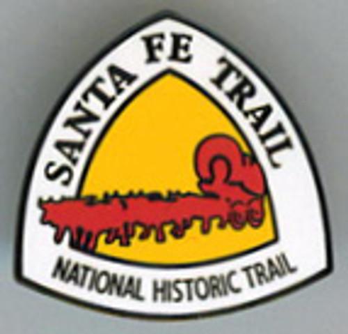 Santa Fe National Historic Trail Logo Pin