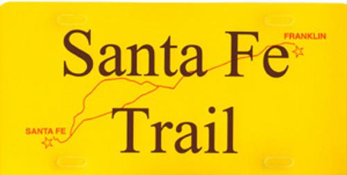 Santa Fe Trail Car Tag