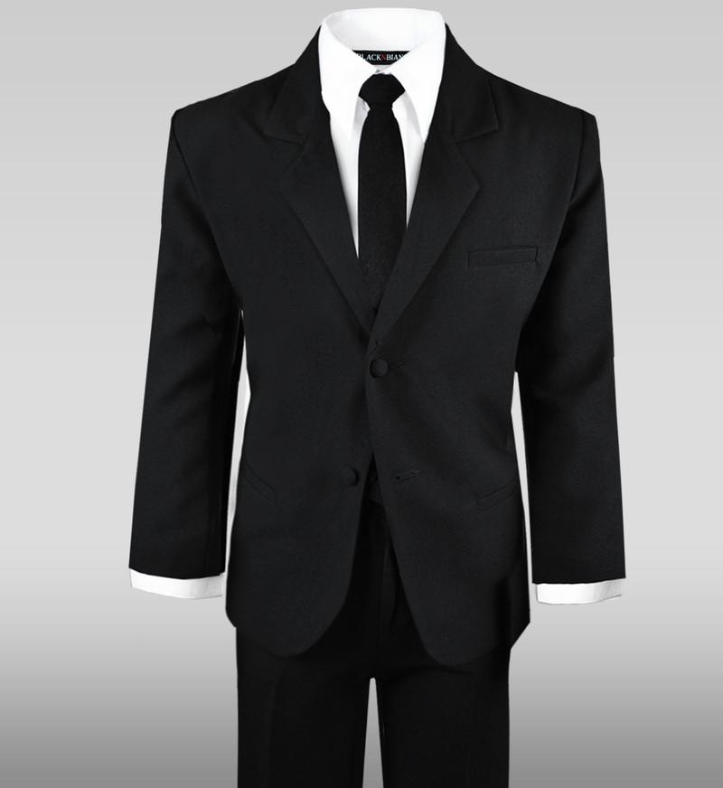 Black N Bianco Boys Teens Suit Dress Wear Set