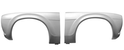 front wing with bubble arch