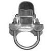 Galvanized Pressed Steel Chain Link Bulldog Hinge - Commercial Grade Gate Hinge