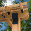 "OZCO OWT 3/4"" Timber Bolt Pergola Installation"